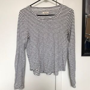 Long sleeve striped women's Madewell thermal